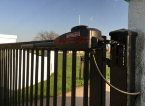 new automatic gate from liftmaster