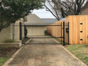 new Residential Gate Replacement in Fort Worth